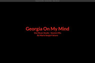 Captura de Tela Georgia on my mind