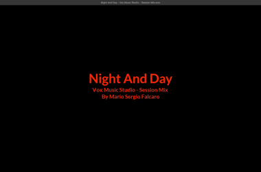Captura de Tela Night and Day
