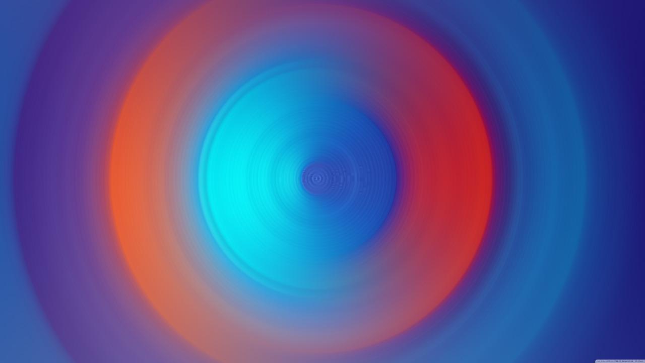 falante azul e vermelho