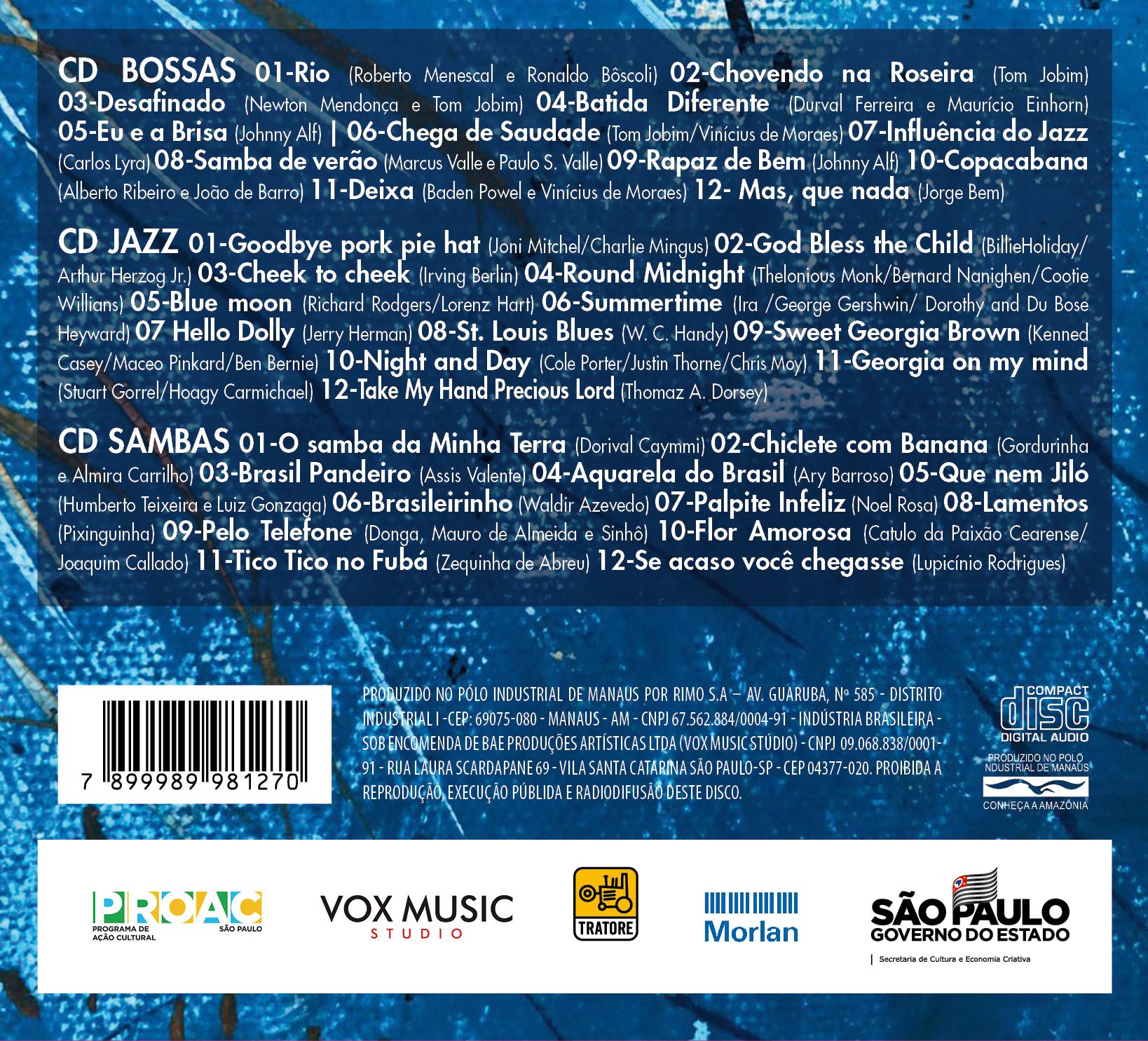 Contra Capa CD Tutti