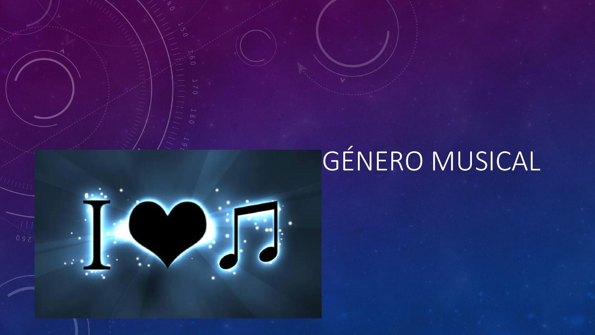 genero musical