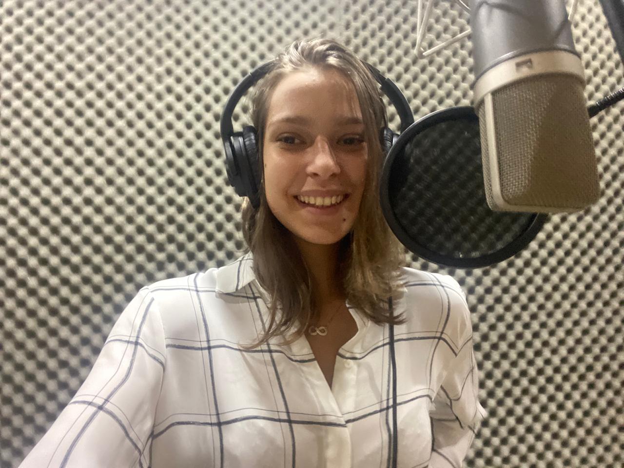 Sofia gravação de voz