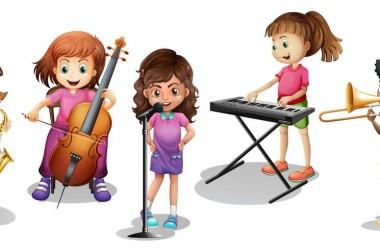 desenho crianças instrumentos 01