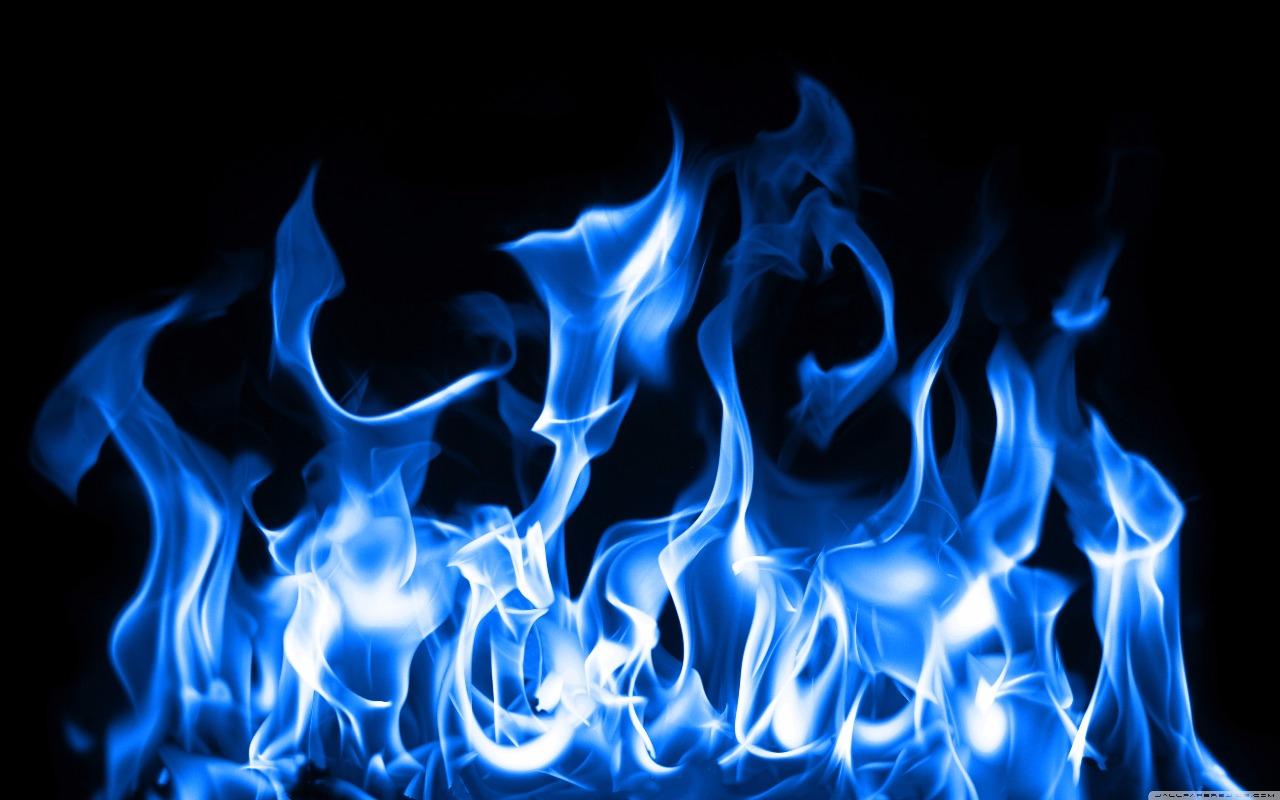 fogo azul