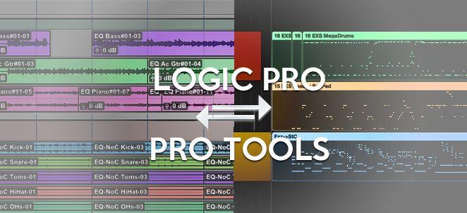 logic e protools