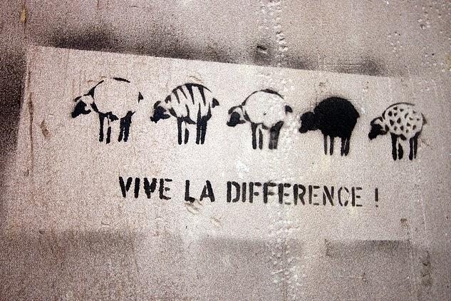 Vive la diference
