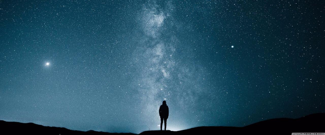 homem espaço