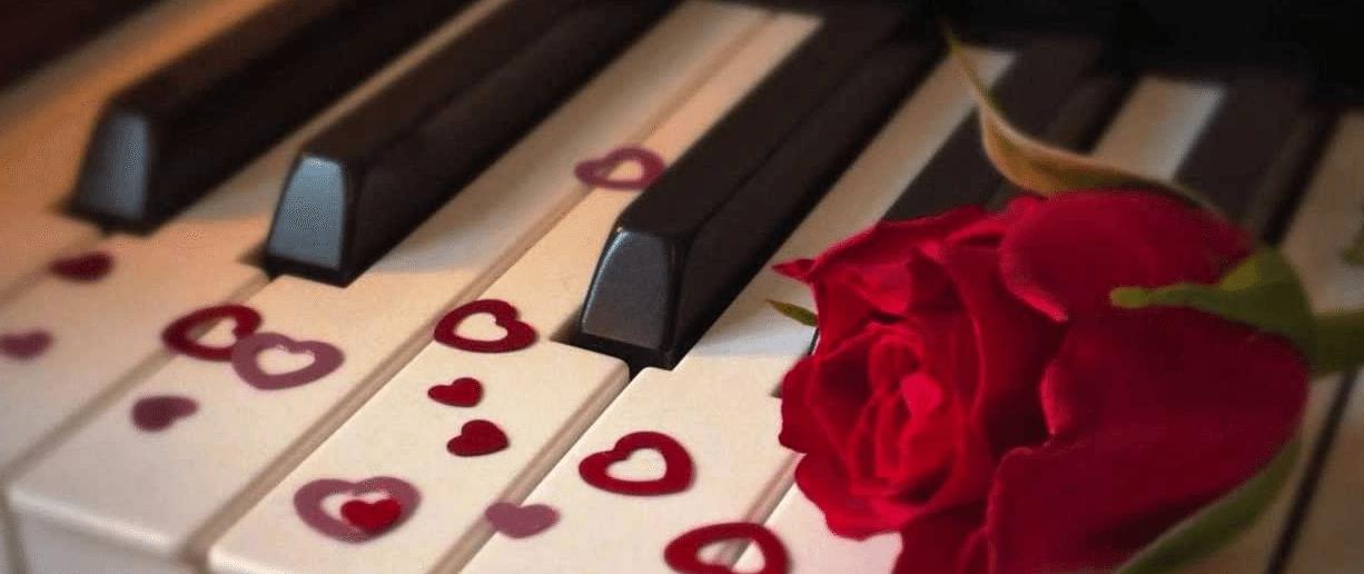 dia dos namorados piano